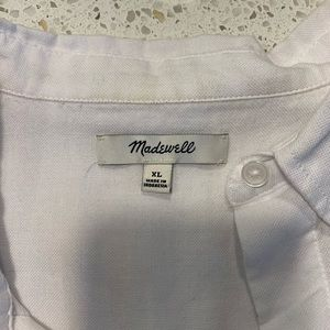 Madewell Tops - Madewell white shirt